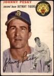 1954 Topps #63  Johnny Pesky  Front Thumbnail