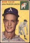 1954 Topps #61  Bob Cain  Front Thumbnail