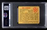 1950 Bowman #192 CR Bob Chipman  Back Thumbnail