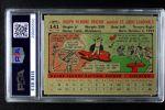 1956 Topps #141 GRY Joe Frazier  Back Thumbnail