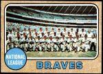 1968 Topps #221   Braves Team Front Thumbnail