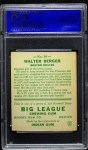 1933 Goudey #98  Wally Berger  Back Thumbnail