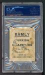 1909 T204 Ramly  Jake Stahl  Back Thumbnail