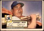 1952 Topps #129  Johnny Mize  Front Thumbnail