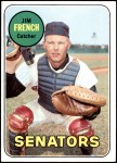 1969 Topps #199  Jim French  Front Thumbnail