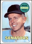 1969 Topps #226  Bruce Howard  Front Thumbnail
