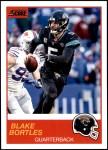 2019 Score #62  Blake Bortles  Front Thumbnail