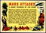 1962 Topps / Bubbles Inc Mars Attacks #55   Checklist  Front Thumbnail