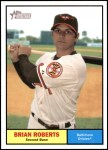2010 Topps Heritage #10  Brian Roberts  Front Thumbnail