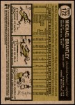 2010 Topps Heritage #172  Michael Brantley  Back Thumbnail