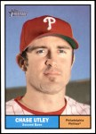 2010 Topps Heritage #179  Chase Utley  Front Thumbnail