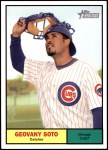 2010 Topps Heritage #12  Geovany Soto  Front Thumbnail