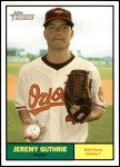 2010 Topps Heritage #85  Jeremy Guthrie  Front Thumbnail