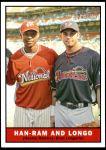 2010 Topps Heritage #314   -  Hanley Ramirez / Evan Longoria Han-Ram and Longo Front Thumbnail