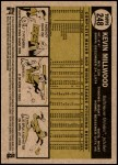 2010 Topps Heritage #248  Kevin Millwood  Back Thumbnail