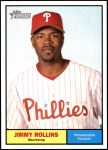 2010 Topps Heritage #103  Jimmy Rollins  Front Thumbnail