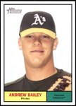 2010 Topps Heritage #24  Andrew Bailey  Front Thumbnail