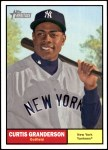 2010 Topps Heritage #37  Curtis Granderson  Front Thumbnail