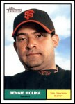 2010 Topps Heritage #31  Bengie Molina  Front Thumbnail