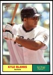 2010 Topps Heritage #331  Kyle Blanks  Front Thumbnail