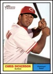 2010 Topps Heritage #97  Chris Dickerson  Front Thumbnail