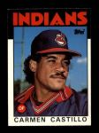 1986 Topps Traded #21 T Carmen Castillo  Front Thumbnail