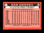 1986 Topps Traded #41 T Ken Griffey  Back Thumbnail