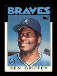 1986 Topps Traded #41 T Ken Griffey  Front Thumbnail