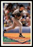1994 Topps Traded #10 T Brian Anderson  Front Thumbnail