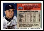 1994 Topps Traded #17 T Donnie Elliott  Back Thumbnail