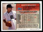 1994 Topps Traded #32 T Tim Belcher  Back Thumbnail