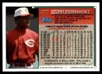 1994 Topps Traded #127 T Tony Fernandez  Back Thumbnail