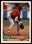 1994 Topps Traded #127 T Tony Fernandez  Front Thumbnail