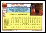 1992 Topps #228  John Williams  Back Thumbnail