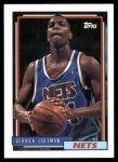 1992 Topps #230  Derrick Coleman  Front Thumbnail