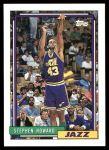 1992 Topps #272  Stephen Howard  Front Thumbnail