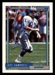 1992 Topps #139  Jeff Campbell  Front Thumbnail