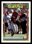 1992 Topps #271  Tommy Vardell  Front Thumbnail