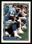 1992 Topps #393  Toby Caston  Front Thumbnail