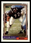 1992 Topps #336  William Perry  Front Thumbnail