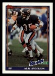 1991 Topps #157  Neal Anderson  Front Thumbnail