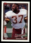 1991 Topps #178  Gerald Riggs  Front Thumbnail