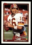 1991 Topps #181  Stan Humphries  Front Thumbnail