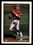 1991 Topps #554  John Elway  Front Thumbnail