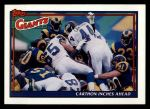 1991 Topps #646   -  Maurice Carthon / Ottis Anderson / Dave Meggett / Everson Walls / Lawrence Taylor / Pepper Johnson Giants Leaders Front Thumbnail