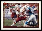 1991 Topps #655   -  Earnest Byner / Gary Clark / Martin Mayhew / Fred Stokes / Alvin Walton Washington Redskins Leaders Front Thumbnail