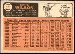 1966 Topps #575  Earl Wilson  Back Thumbnail