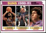 1981 Topps #60   -  Truck Robinson / Alvan Adams Suns Leaders Front Thumbnail
