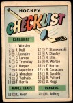 1967 Topps #66   Checklist Front Thumbnail