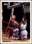 1993 Topps #17  Matt Bullard  Front Thumbnail